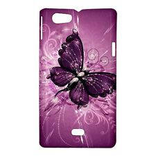 Purple Butterfly - Hard Case for Sony Xperia (8 Models)-CD4816