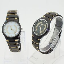 Free Ship Fashion Casual Black Men Stainless Steel Luxury Dress Watch NG31