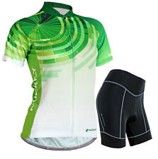 Women Cycle Jersey Cycling Clothing Bike Shorts Bicycle Wear Uniforms Gear S-XL