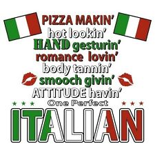 Pizza Makin Italian T Shirt You Choose Style, Size, Color Up to 4XL 10347
