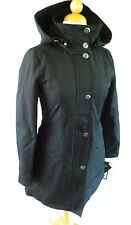 WOMENS KRISTEN BLAKE RAIN COAT JACKET LONG, Water Repellant Gray Black Blue, NWT