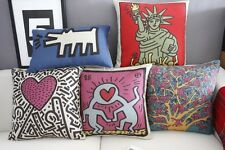 Childlik Abstract Cotton Blend Graffiti Print Sofa bed cushion case/pillow cover