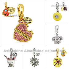 Juicy Couture Limited Edition Charms Gold Crystal Snowflake Candy box Cupcake
