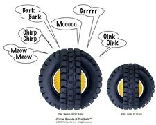 "Talking Tire Dog Ball Motion Sensor Play Toy that interacts ""Talks"" to your Dog"
