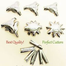 Q-FRENCH V-FRENCH Pink & White Acrylic Gel Nail Cutters Q Buffers Products Tool