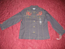 Women's New Denim shirt  by Rebecca Malone retail $48.00 country style