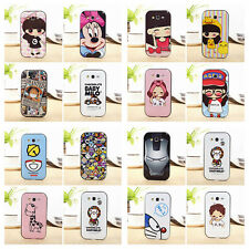 2014 Cute Cat monkey Carton Soft tpu Cover Back Case For Galaxy Grand Duos i9082