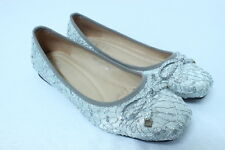 Leather like Shining round toe Ballet Flats Dress womens shoes Party Casual