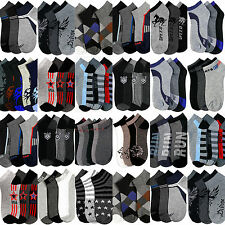 Mens Ankle Socks Wholesale Lot Low Cut Size 10-13 Casual Sport  Assorted Colors