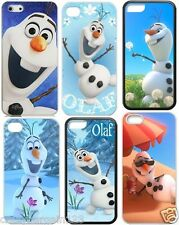 FROZEN Olaf Snowman Novelty Case Cover for iPhone 4s,5,5s,5c,6 Free Screen Guard