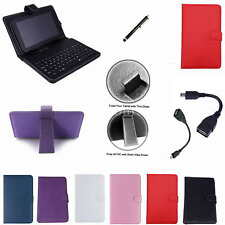 "Colorful Keyboard Case Cover+Stylus For 9.7"" Mach Speed Trio Stealth Pro Tablet"