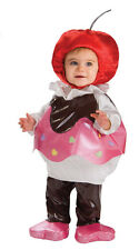 Cupcake Costume Infant Toddler Girls Childs Cherry on Top Fancy Dress Cup Cake