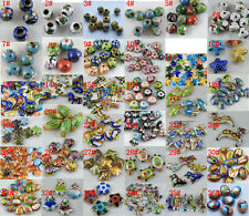 Cloisonne Enamel Mixed Beads/Spacers/Charms 36style-1 O82