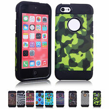 Cheap Multi Style Durable Hard Back Skin Case Cover Fit For Apple iphone 5C New!