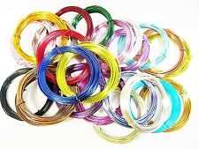 10 Metres of Aluminium Wire 1mm thick Jewellery Making Beading Wrapping Thread