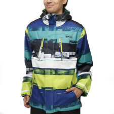 Rip Curl ANSWER Mens Snow Board Ski Mountain Waterproof Jacket New - Green
