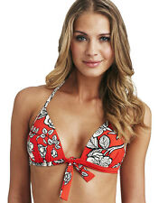 Sunseeker Swimwear Summer Rose Red Moulded Padded Bikini Bra Top Select Size