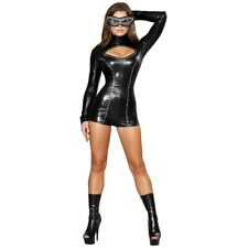 Sexy Cat Costume Adult Womens Masquerade Kitty Halloween Fancy Dress
