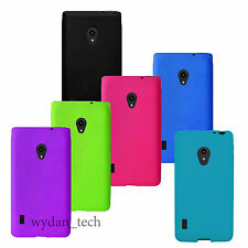 For LG Lucid 2 VS870 Silicone Soft Gel Skin Case Flexible Phone Accessory Cover
