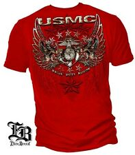 USMC Pride Duty Honor Red T-Shirt