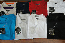 BNWT CALLAWAY GOLF TOP MEN BOYs POLO SHIRTS RED NAVY/SKY BLUE WHITE GREY BLACK
