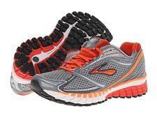 BROOKS MEN'S GHOST 6 RUNNING SHOES ORANGE SIZES 9 9.5 10 10.5 11 12 NEW