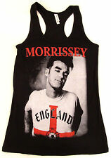 MORRISSEY Tank Top T-shirt THE SMITHS Indie Pop Rock JUNIORS Tee S-XL Black New