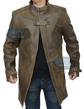 Watch Dogs Aiden Pearce Genuine Leather Trench Coat