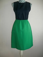 NWT Marc by Marc Jacobs Fresh Grass Green and Blue Tate Twill Dress $358 retail!