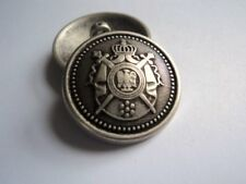 M2089 LARGE COAT OF ARMS SILVER & BRASS & GOLD METAL BUTTONS-18mm-21mm-23mm-26mm