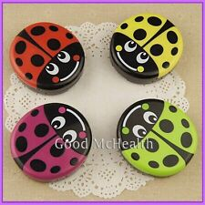 2014 NEW Ladybug Design Contact Lens Case with Soaking Case & Mirror