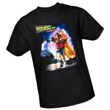 BACK TO THE FUTURE PART II Movie Poster - Marty & Doc -- Adult T-Shirt