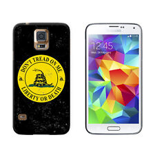 Gadsden - Don't Tread on Me - Liberty or Death - Case for Galaxy S5