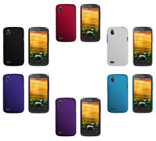 Hard Rubberized Matte Plastic Snap-On Cover Case For HTC Desire V T328W