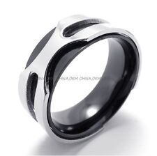 Men's 316L Stainless Steel Titanium Gorgeous Valentine's Party Band Ring M075022