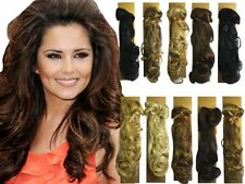Hairtrix Long Wavy Pony Hair Extension Clip In Slip In Comb Choose Shade