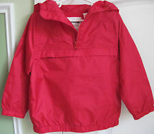 NWT Gymboree Boys Red Hooded Ripstop Windbreaker Jacket/Coat M (7-8) & L (10-12)