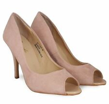 *SALE* LADIES GIRLS SEXY NUDE HIGH HEELS STILETTO PARTY SUMMER SHOES rrp £16!