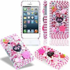Barbie Diamond Bling Crystal Gemstones Case Cover For Various Mobile Phone