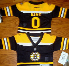 Boston Bruins Infant Toddler  Reebok NHL Hockey Jersey add any name & number