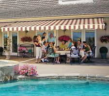 17' SunSetter Motorized Awning with Acrylic Fabric by SunSetter Awnings