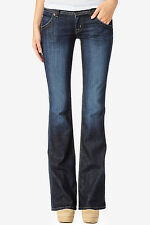 Hudson Jeans Signature Bootcut Flap Womens Premium Denim Sizes 24 - 32 Elm Dark