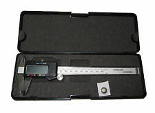 RDGTOOLS DIGITAL VERNIER CALIPERS SHOW METRIC AND IMPERIAL SIZES FRACTION