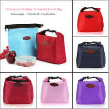 Thermal Cooler Waterproof Insulated Lunch Carry Tote Picnic Storage Pouch Box