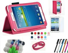 "Folio PU Leather Case Cover Stand Samsung Galaxy Tab 3 8 8"" 8.0 inch SM-T310"