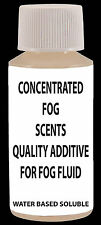 2X BOTTLES CONCENTRATED FOG SCENTS FOR 1 GALLON OF FOG LIQUID JUICE