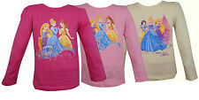 Girls princess long sleeve shirt 3-6Y with Belle Cinderella and Rupunsel