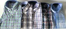NEW TOMMY HILFIGER MENS BUTTON UP SHORT SLEEVED SHIRTS, NWT, CLASSIC