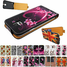 Flip Leather Cell Phone Pouch Cover Case Protect For Samsung Galaxy S5 SV i9600