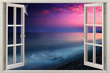 Abstract natural Window View Removable Wall Art Sticker Vinyl Decal Home Decor